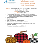 Aging and Disability Resource Center of the North - Iron County Branch Fall Open House